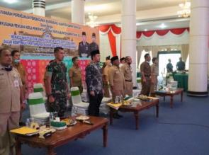 Pertama di Riau, Kampar Lakukan Musrenbang RKPD 2021 Melalui Live Streaming.