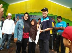 4 Motor Jadi Doorprice Gerak Jalan HUT Kabupaten Kepulauan Meranti ke-9