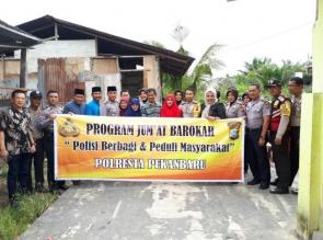 Di Kunjungi Team Barokah Polresta, Pak Warso Merasa Terharu