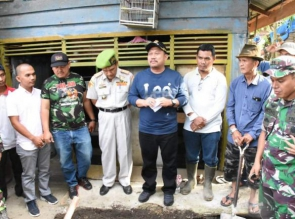 Plt Bupati Kampar Apresiasi Kerjasama TNI dengan Masyarakat