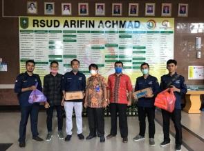 IKA STIFAR Riau peduli COVID 19