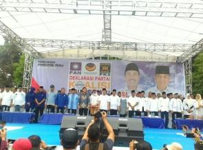 Deklarasi Syamsuar - Edy Natar, Diramaikan Dari Berbagai Daerah Se Riau
