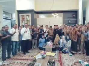 Datuk Yusri Bersilaturrahmi Bersama Lemtari Kampar di Rumah Dinas Sekda