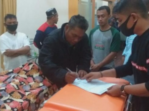 Seorang Pemuda Ditemukan Tewas Gantung Diri Dikamar Kos di wilayah Desa Tarai Bangun