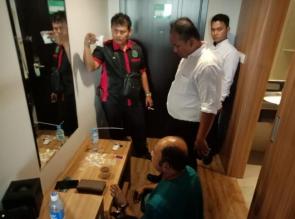 Bandar Narkoba asal Bangkinang ini akhirnya Ditangkap di Sebuah Hotel di Pekanbaru