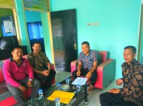 DPC Forum Pengelola Lembaga Kursus dan Pelatihan Kampar Sambangi Kantor PWI Kampar