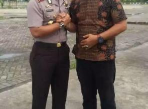 AKBP Edy Sumardi P SIK Ucapkan Selamat Kepada Ketua IWO Riau