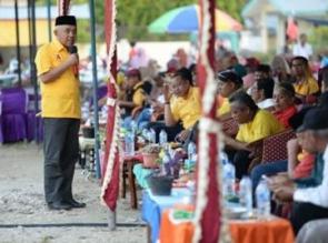 Warga Melayu Jawa Desa Petala Bumi Yakin Pilih