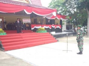Wakil Bupati Pimpin Upacara Peringatan Hari Pahlawan Tahun 2017 Tingkat Kab. Kampar