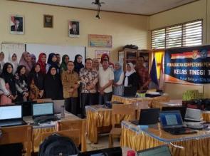 Kadispora Kampar Kunjungi Kegiatan Peningkatan Kompetisi Pembelajaran PKP