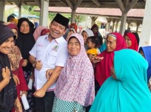 H. Syafaruddin Poti Jemput Aspirasi Masyarakat Kabupaten Rokan Hulu