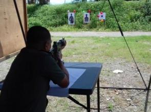 Laskar Shooting Club Indonesia (LSCI) Pekanbaru Adakan Workshop Tembak Reaksi AA-IPSC I