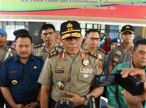Ribuan Masyarakat Ikuti Bhakti Kesehatan Polda Riau di Tambang