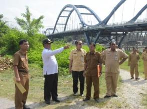Matangkan Pelaksanaan MTQ Riau, Bupati Tinjau Lokasi.