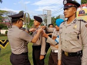 12 Orang Bintara Remaja Polres Kampar ikuti Pembinaan Tradisi dan Orientasi