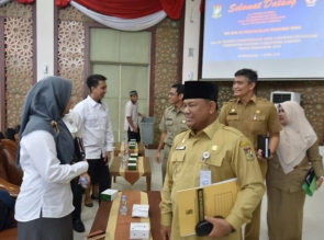 Bahas Laporan Keuangan, BPK RI Perwakilan Riau Kunjungi Kampar.