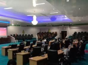 DPRD Kampar Gelar Paripurna Penyampaian Ranperda RPP APBD 2018
