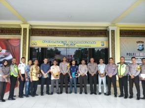 Ditlantas Polda Riau Lakukan Penilaian Program Road Safety Partnership Action di Polres Kampar