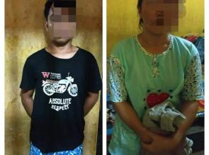 Halangi Petugas Saat Penangkapan Bandar Shabu, lstri dan Anak Pelaku Diamankan