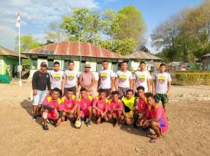 Ciptakan Sinergitas TNI dan UPF Timor Leste, Gelar Olahraga Bersama di Perbatasan