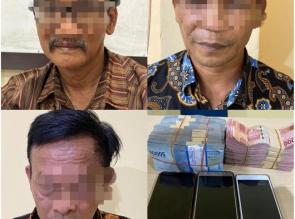 3 Kepala Desa di Kampar Terkena OTT oleh Tim Tipikor Polres Kampar