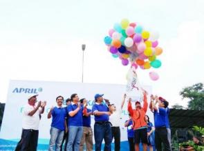 Bulan Olahraga Riau Kompleks PT RAPP 2018 Resmi Dibuka
