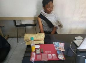 Seorang Bandar Shabu Kembali Diringkus Polisi