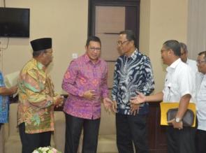 Hadiri Musrenbangnas RKP 2019. Azis Zaenal, Kejar dan Kawal DAK Pusat.