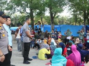Kapolres Kampar bersama Perwakilan Forkopimda Kunjungi Masyarakat Koto Aman