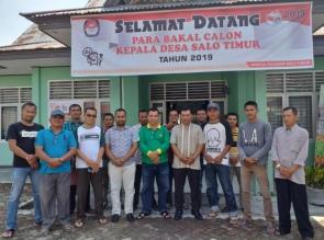 Resmi Mendaftar di Pilkades, Irhansyah Ingin Salo Timur Bangkit Disegala Bidang