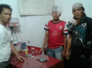 Transaksi Narkoba di Los Pasar Padang Sawah, Pengedar Shabu ini Diciduk Polisi