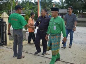 Wakil Bupati Tinjau Lokasi Bencana Angin Puting Beliung di Tapung.