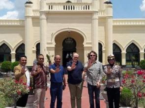 Universitas Jerman Teken MOU Dengan UIR, Dua Guru Besar Jerman Adakan Kuliah Umum