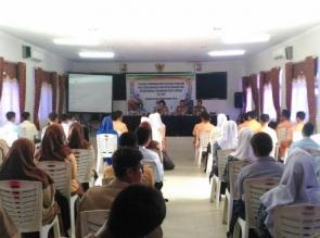 60 Pelajar Berprestasi dari Kab. Kampar dan Rohul Ikuti Pelatihan Psikologi Untuk Calon Anggota Polr