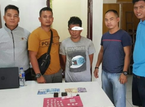 Seorang Bandar Narkoba Diringkus Polisi di Sebuah Ruko.