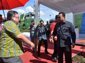 Menteri Riset dan Teknologi Resmikan PLT Biogas 900 Kilowatt Dikampar