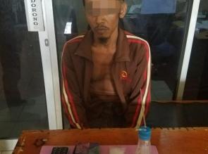 Unit Reskrim Polsek Tapung Tangkap Seorang Pelaku Narkoba