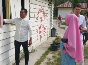 H. Zukri Akan Perjuangkan Pembangunan Sekolah SMAN 2 di Pelalawan Secara Permanen