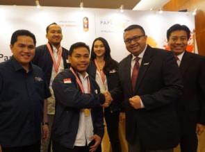 Paperone Dukung Tim Indonesia di Pesta Olahraga Terbesar Asia