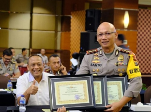 Jalankan Program Promoter, Polresta Pekanbaru terima Penghargaan dari Kapolda Riau