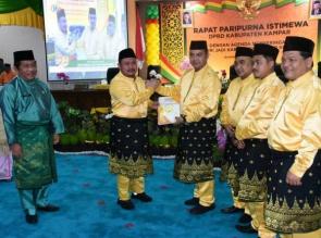 DPRD Kabupaten Kampar Gelar Paripurna Hari Jadi Ke 70