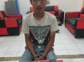Setelah 6 Bulan Kabur, DPO Kasus Narkoba ini Akhirnya Diringkus Polsek Tapung