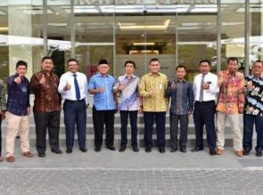 Komisi II DPRD Anambas Rapat Kerja Dengan Bank Riau Kepri Usulkan Tambah Jaringan Kantor