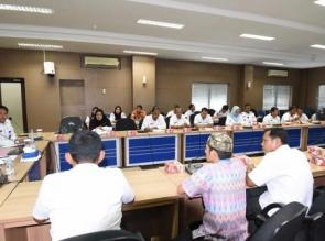 Rapat Persiapan akhir MTQ Ke 36 Provinsi Riau Tahun 2017 di Kota Dumai. Nurbit, Kampar Siap Jadi yan