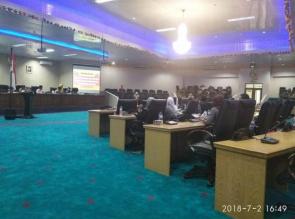Saat Rapat Paripurna Anggota Sebut Ketua DPRD Main Kasar