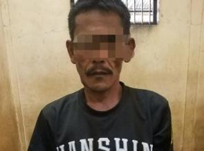Polsek Tapung Tangkap Seorang Bandar Shabu di Desa Petapahan Jaya