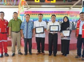 Lima Sekolah Raih Reward K3 dari RAPP