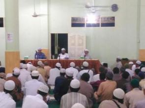 Ponpes Tazim Assunnah Desa Rimbo Panjang adakan Tabligh Akbar