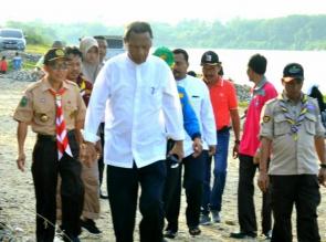 Bupati dan Wabup Kampar Tinjau Kontingen PW PTK ke-XIV se Indonesia