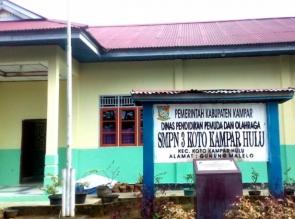 Kepsek SMPN 3 Koto Kampar Hulu, Berharap Adanya Bantuan Pemerintah Untuk Perangkat UNBK